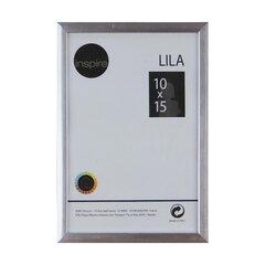 Pildiraam LILA 10x15 cm, hõbedane