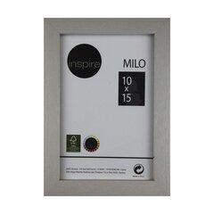 Pildiraam MILO 10x15 cm, hõbedane