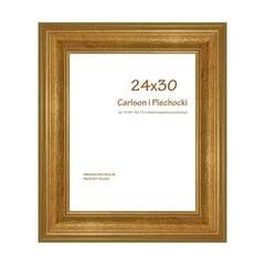 Pildiraam SYRIUŠ 24x30 cm, kuldne