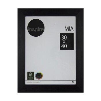 Pildiraam MIA 30x40 cm, must