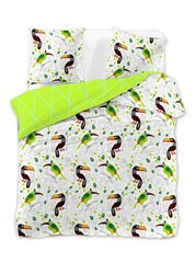 Voodipesukomplekt 3-osaline DecoKing Ducato Collection Toucan, 230x220 cm