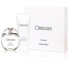 Komplekt Calvin Klein Obsessed: EDP naistele 50 ml + ihupiim 100 ml