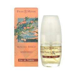 Tualettvesi Frais Monde White Musk And Mandarin Orange EDT naistele 30 ml
