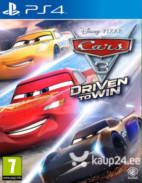 Mäng Cars 3 Driven to Win, PS4