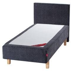 Kušett Sleepwell RED Pocket Grey Velur, hall