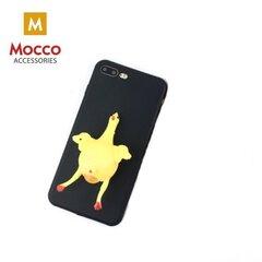 Mocco 4D silikoon silikoon tagus pehme kattega telefonile Samsung A520 Galaxy A5 (2017), must