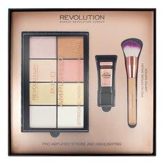 Комплект средств придающих блеск коже Makeup Revolution Pro Amplified Strobe And Hlighting