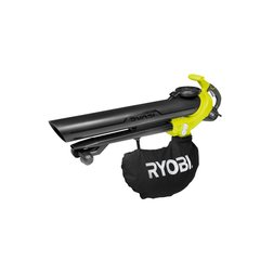 Elektriline lehepuhur-imeja Ryobi RBV3000CESV, üks toru teise peal