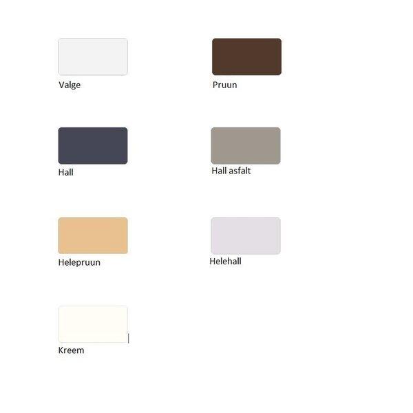 Dušialus Sanplast Space Mineral B-M/Space 90x140x1,5 värv hall asfalt tagasiside