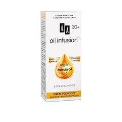 Niisutav kortsudevastane silmakreem AA Oil Infusion Argan Marula Oil Q10 30+ 15 ml