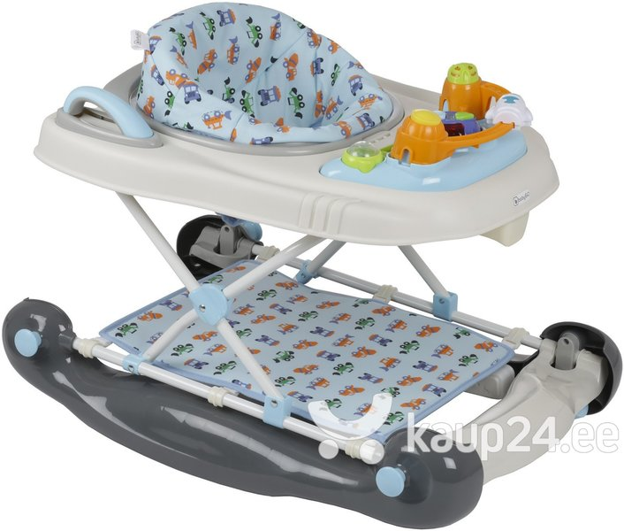 Ходунок Baby Go 4in1, grey light blue
