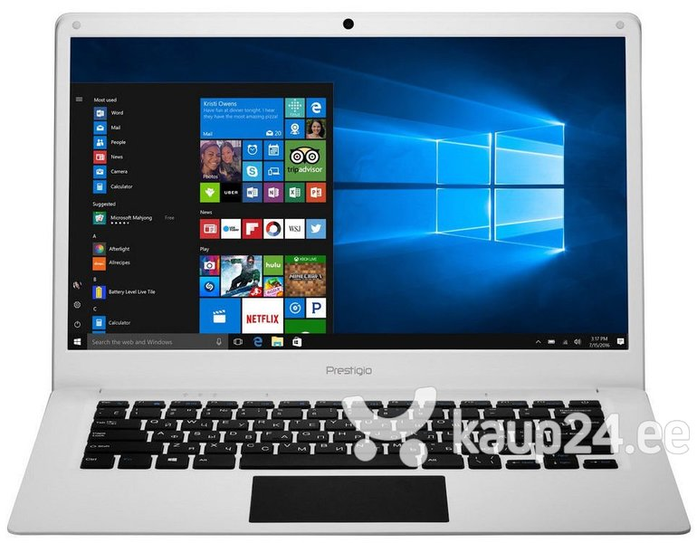 "Prestigio SmartBook 141C, 14.1"",  ENG/RU Белый + Microsoft Office 365 1 год!"