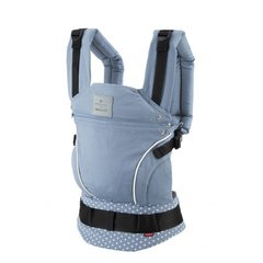 Kandekott Manduca Bellybutton Sling, WildCrosses Blue