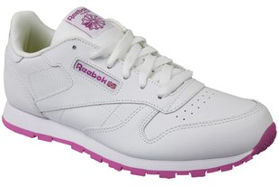 Naiste spordijalatsid Reebok Classic Leather, valge/roosa