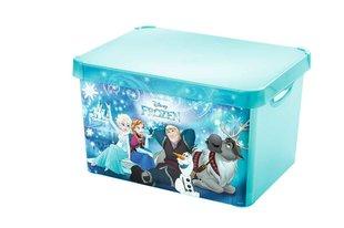 Laste hoiukast kaanega Curver Frozen 39,5x29,5x23,5 cm, sinine