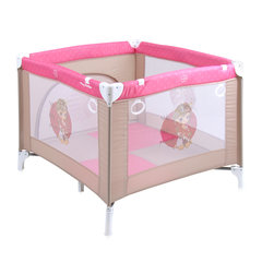 Reisivoodi Lorelli Play Station, Beige/Rose Princess