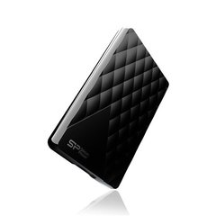 Väline kõvaketas SILICON POWER 1TB, PORTABLE HARD DRIVE DIAMOND D06, must