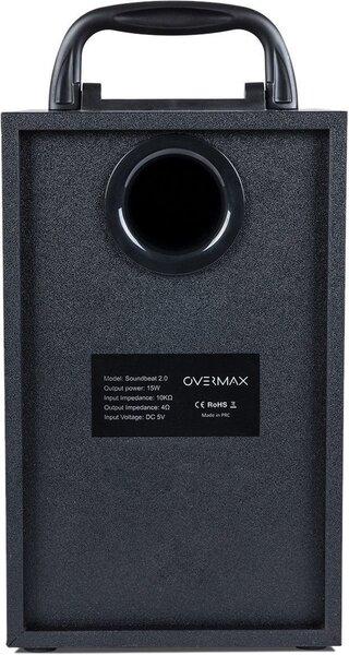 Kaasaskantav kõlar Overmax Soundbeat 2.0, Bluetooth 2.1+ EDR, must Internetist