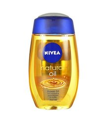 Dušiõli kuivale nahale Nivea Natural Oil 200 ml
