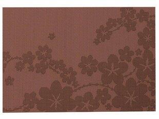 Lauakate AMBITION Dream Flower 30 x 45 cm, pruun lilledega