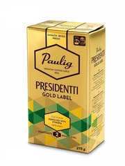 Молотый кофе PAULIG PRESIDENTTI Gold Label, 275 г