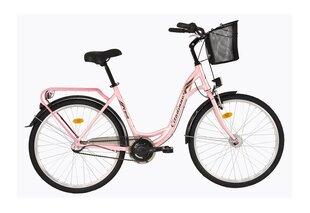 Naiste linnajalgratas DHS Citadinne 2636, roosa