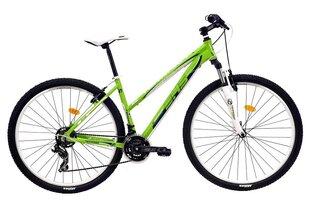 Naiste mägijalgratas DHS 2922 457 roheline