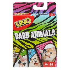 Kaardimäng UNO Baby Animals