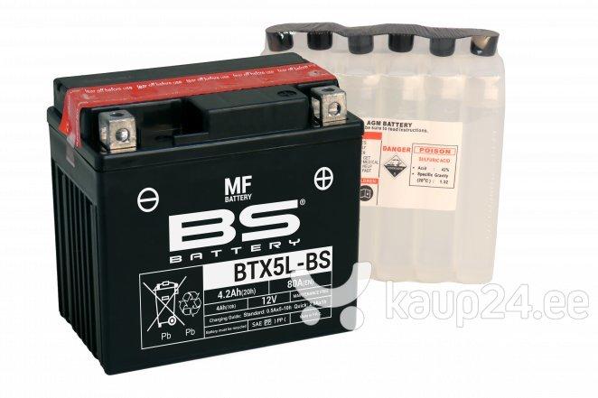 Aku BS-Battery BTX5L-BS 12V 4Ah