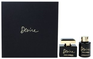 Komplekt Dolce & Gabbana The One Desire: EDP naistele 50 ml + ihupiim 100 ml