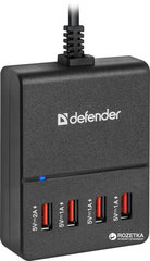 Adapter-laadija DEFENDER AC line adapter UPA-40 4 ports USB 5V / 5A