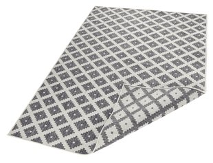 Vaip Bougari Twin Nizza Grey Cream, 80x350 cm