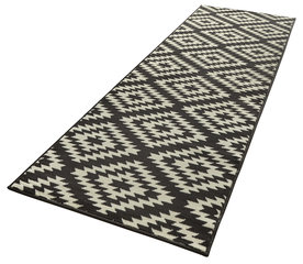 Vaip Hanse Home Basic Nordic Black, 80x300 cm