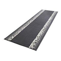 Ковровая дорожка Hanse Home Basic Plant Grey, 80x300 см