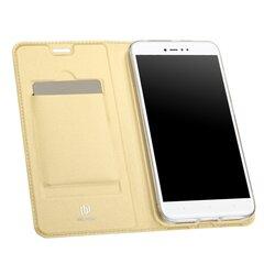 Klapiga kaitseümbris Dux Ducis Premium Magnet Case, sobib Xiaomi Redmi Note 5A / Y1 Lite, kuldne