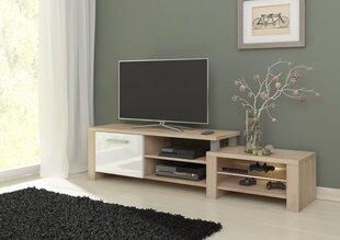 TV laud Orion, tamm/valge
