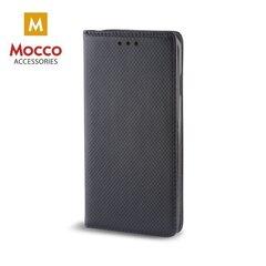Kaitseümbris Mocco Smart Magnet Book Case, sobib Samsung G965 Galaxy S9 Plus telefonile, must
