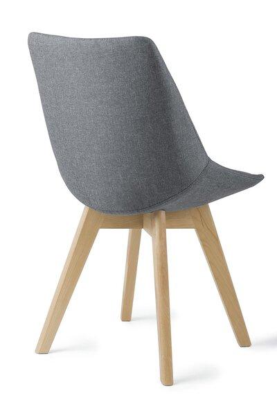 2 обеденных стулья SANDE, серые