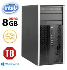 HP 6200 PRO MT G620 8GB 120SSD+1TB DVD Win 10 Pro hind ja info | Lauaarvutid | kaup24.ee