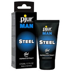 Geel pjur MAN Steel, 50 ml цена и информация | Массажные масла | kaup24.ee