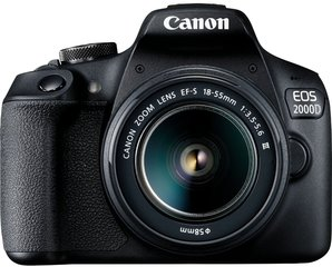 Canon EOS 2000D + 18-55mm III Kit, must