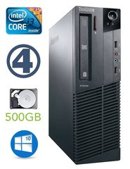 Lauaarvuti Lenovo ThinkCentre M82 SFF i3-3240 4GB 500GB DVD WIN10Pro