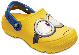Poiste jalanõud Crocs™ Crocs Fun Lab Minions™ Clogs, Yellow
