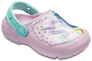 Poiste jalanõud Crocs™ Fun Lab Clogs, Ballerina Pink / New Mint