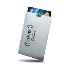 Pangakaardi kaitseGreenGo, blokeerib RFID ja NFC signaalid