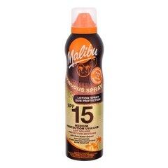 Sprei päevitukreem Malibu SPF 15 175 ml