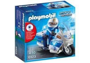 6923 PLAYMOBIL® City Action Politsei mootorratas LED-tuledega