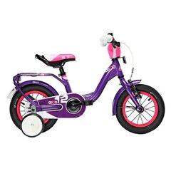"""Tüdrukute jalgratas Scool niXe alloy 1 speed-violet 12"""""""