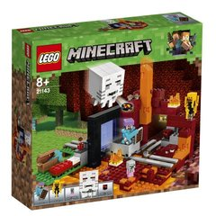 "21143 LEGO® Minecraft™ ""The Nether"" portaal"