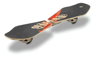 Rula Street Surfing Wave Rider Abstract Wooden Casterboard